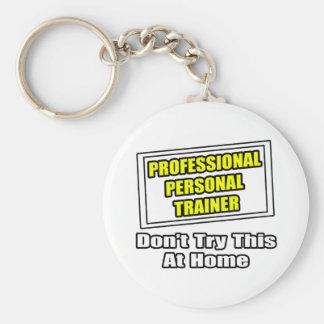 Chiste personal profesional del instructor… llavero redondo tipo pin