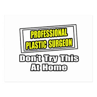 Chiste profesional del cirujano plástico… tarjeta postal