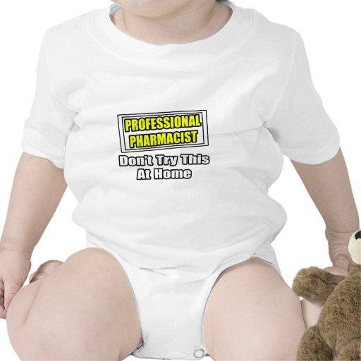 Chiste profesional del farmacéutico… camisetas