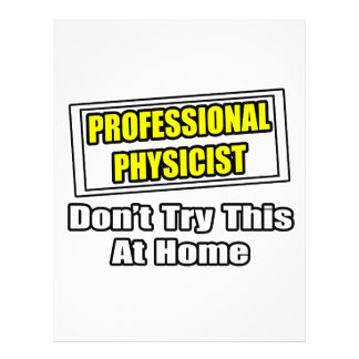Chiste profesional del físico… membretes personalizados