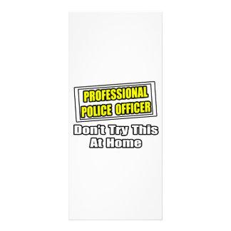 Chiste profesional del oficial de policía… lonas publicitarias