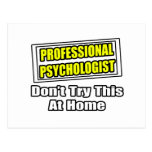 Chiste profesional del psicólogo… tarjetas postales