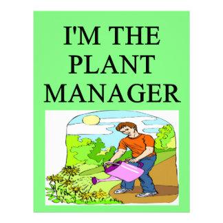 chiste que cultiva un huerto del jardinero membrete