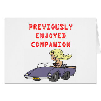chiste rubio divertido del divorcio tarjeta de felicitación