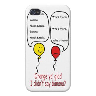 Chiste tonto del golpe del golpe iPhone 4 cárcasa