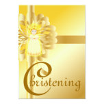 Chistening - personalizar invitación 12,7 x 17,8 cm