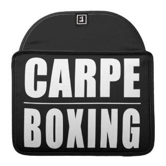 Chistes divertidos de las citas de los boxeadores: fundas para macbooks