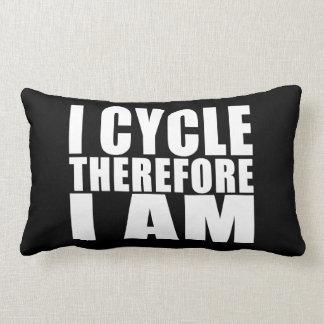 Chistes divertidos de las citas de los ciclistas:  cojin