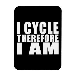 Chistes divertidos de las citas de los ciclistas:  imanes rectangulares