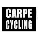 Chistes divertidos de las citas de los ciclistas:  felicitación