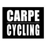 Chistes divertidos de las citas de los ciclistas: postal