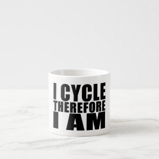 Chistes divertidos de las citas de los ciclistas:  tazas espresso