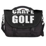 Chistes divertidos de las citas de los golfistas:  bolsas para ordenador