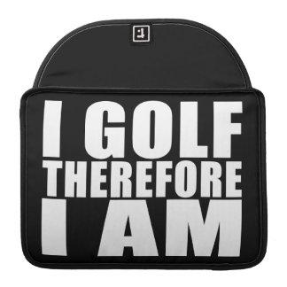 Chistes divertidos de las citas de los golfistas: fundas para macbook pro