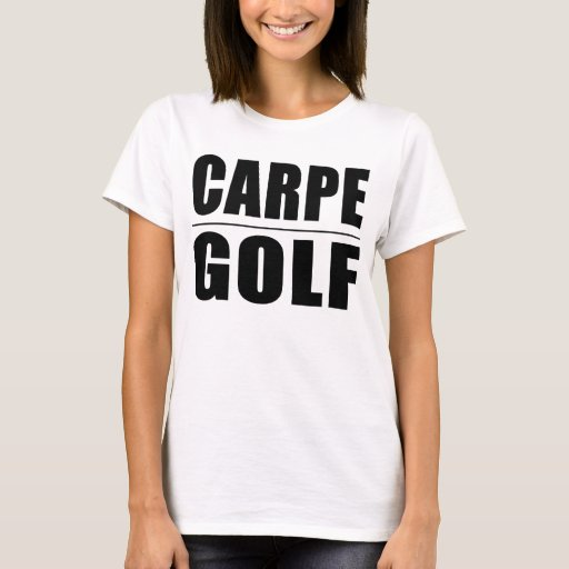 Chistes divertidos de las citas de los golfistas: playera