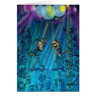 Chistes divertidos del cumpleaños - club de baile tarjeta de felicitación
