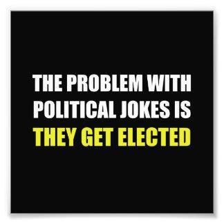 Chistes políticos elegidos cojinete