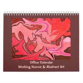 Chistes y arte divertidos del trabajo calendario