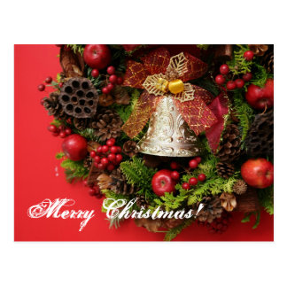 Chistmas Bell. Postcard