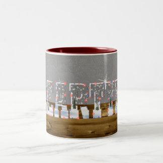 Chistmas creartylic mug