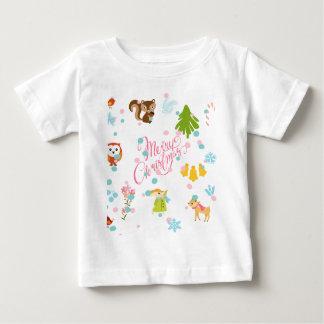 chistmas pattern baby T-Shirt