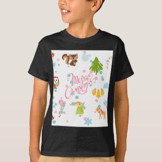 chistmas pattern T-Shirt