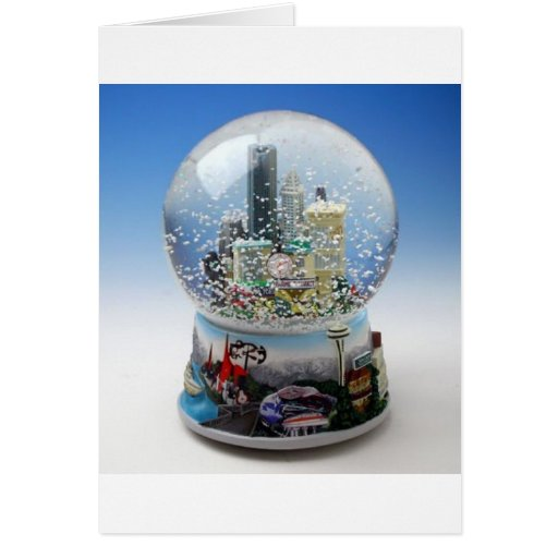 Chistmas Snow Globe Cards