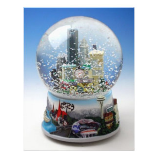 Chistmas Snow Globe Flyer