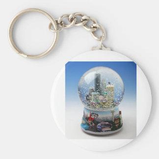 Chistmas Snow Globe Keychain