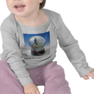Chistmas Snow Globe T Shirts