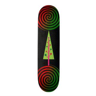 Chistmas Tree Skateboard