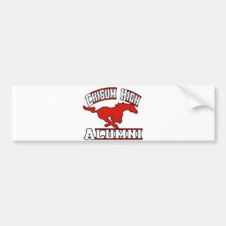 Chisum Mustangs Alumni Bumper Sticker