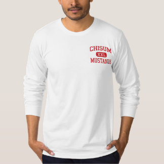 Chisum - Mustangs - High School - Paris Texas T-Shirt