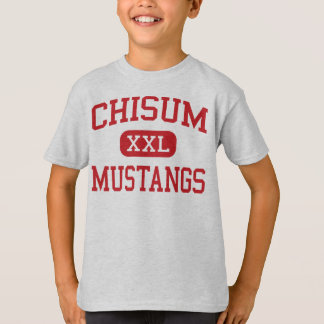 Chisum - Mustangs - Middle School - Paris Texas T-Shirt
