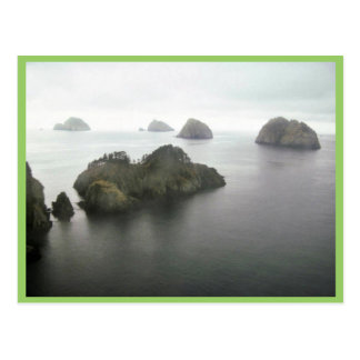 Chiswell Island Group, Gulf of Alaska, 1989 Postcard