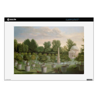 "Chiswick House Gardens (oil on canvas) Skin For 15"" Laptop"