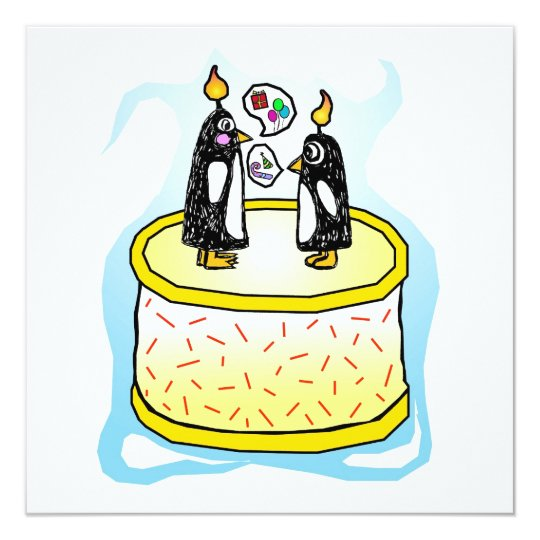 Chit and Chat Birthday Invitations