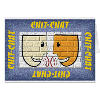 chit-chat card