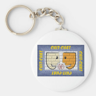 chit-chat keychain