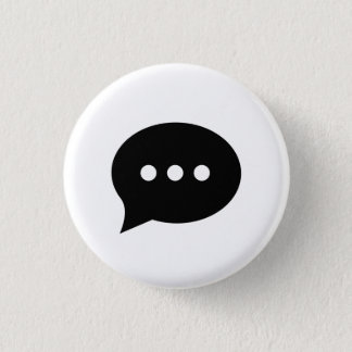 'Chit-Chat' Pictogram Button