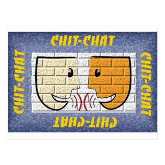 chit-chat postcard