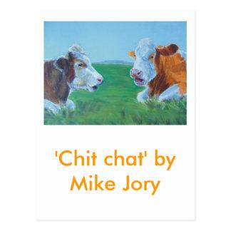 Chit Chat Postcard