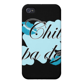 Chit pa de - Burmese - I Love You (2) Teal Kisses. iPhone 4 Cover
