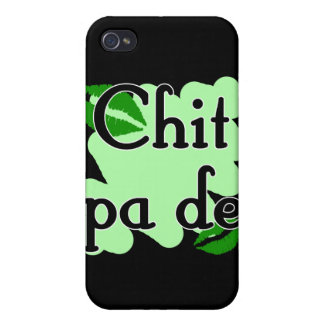 Chit pa de - Burmese - I Love You (3) Green Kisses iPhone 4/4S Cases