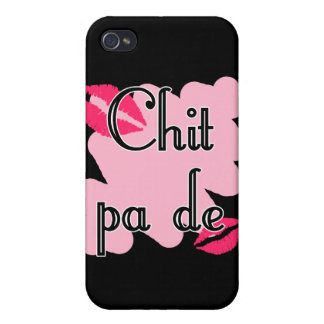 Chit pa de - Burmese - I Love You (4) Pink Kisses. iPhone 4/4S Case