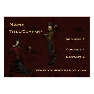 ChitChatPrint Drama Actor Actress card Large Business Cards (Pack Of 100)