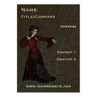 ChitChatPrint Drama Actress on Stage Cards Large Business Cards (Pack Of 100)