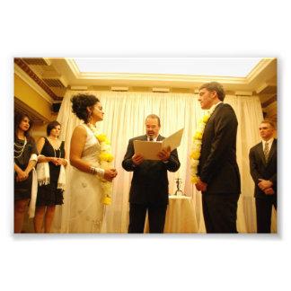 Chitra y Jeffrey: El casarse Fotografias