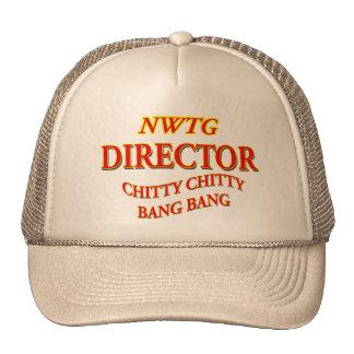 Chitty Director Trucker Hats