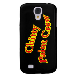Chitty Paint Crew Samsung Galaxy S4 Cover